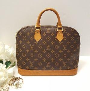 Authentic Louis Vuitton Alma Handbag